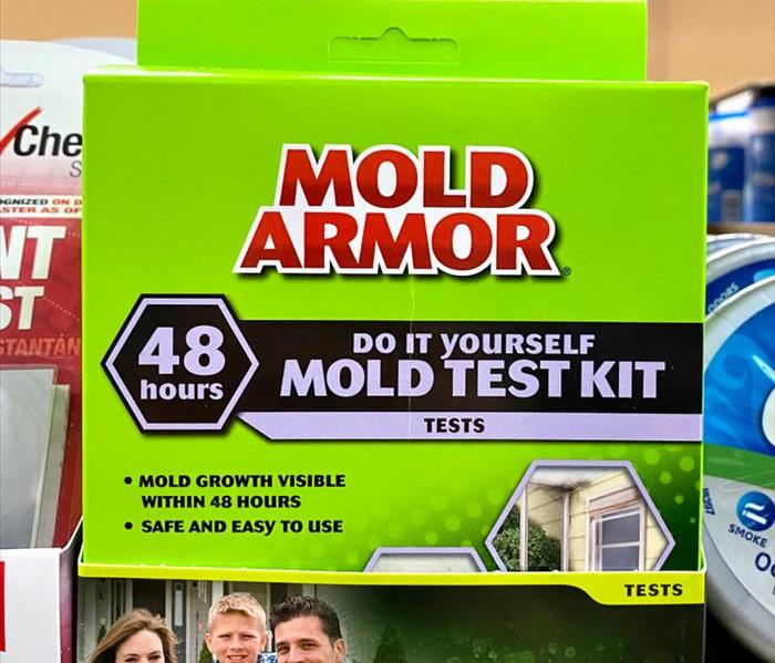 Mold Armor Do It Yourself mold test kit, shows results in 48 hours.